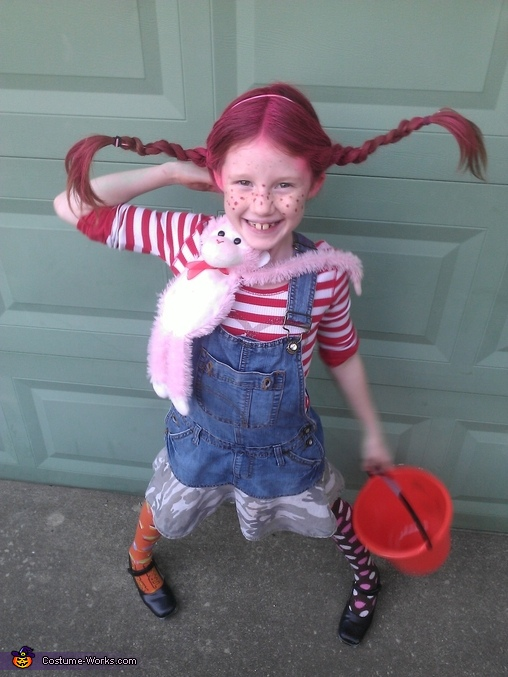 Pippi Longstocking Costume