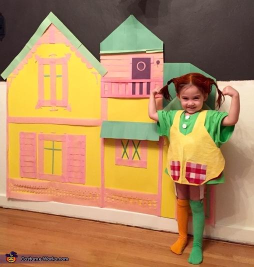 Pippi Longstocking Costume