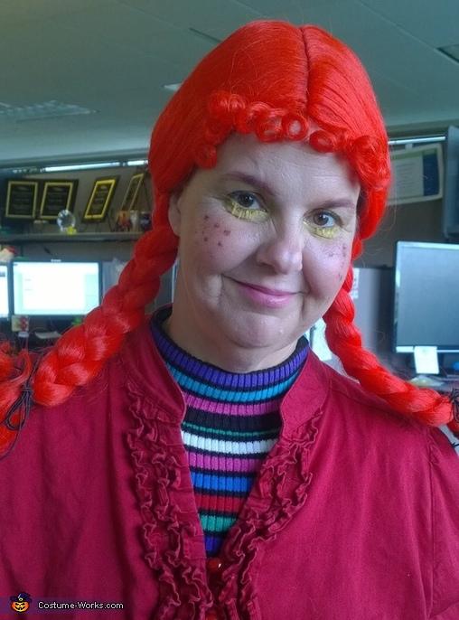 Pippi, Pippi Longstockings Costume