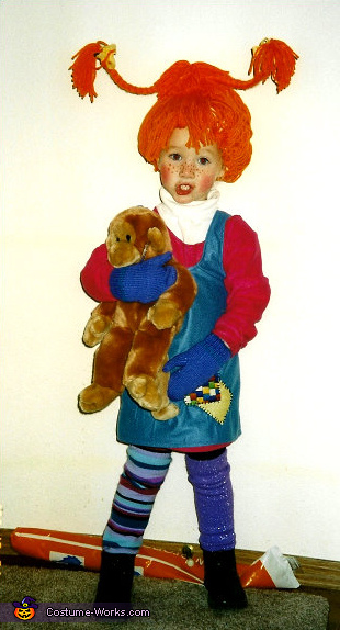 Pippi Longstocking - Homemade costumes for girls