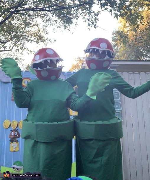 Piranha Pipe Plants from Mario Costume