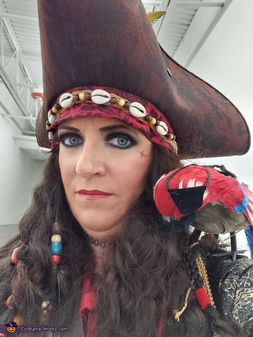 Johnny Depp--look out! Lol, Lady Pirate Captain Costume