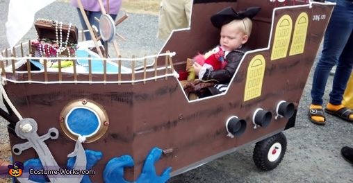 Pirate aboard his own Ship Homemade Costume