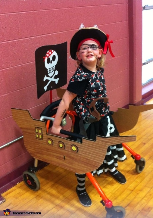 Pirate and her Ship Costume