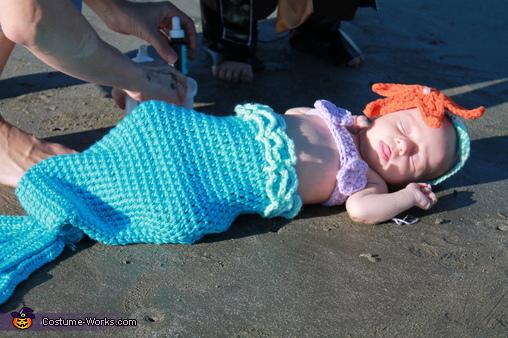 Mermaid, Pirate and Mermaid Costume