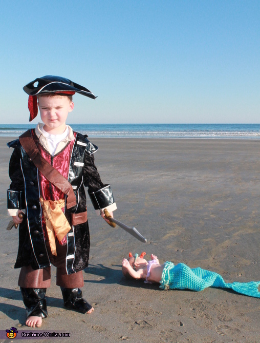 Pirate, Pirate and Mermaid Costume