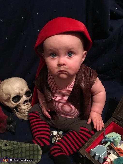 Pirate Baby Homemade Costume