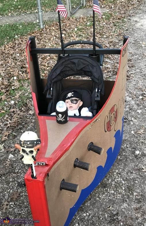 Pirate Baby Costume