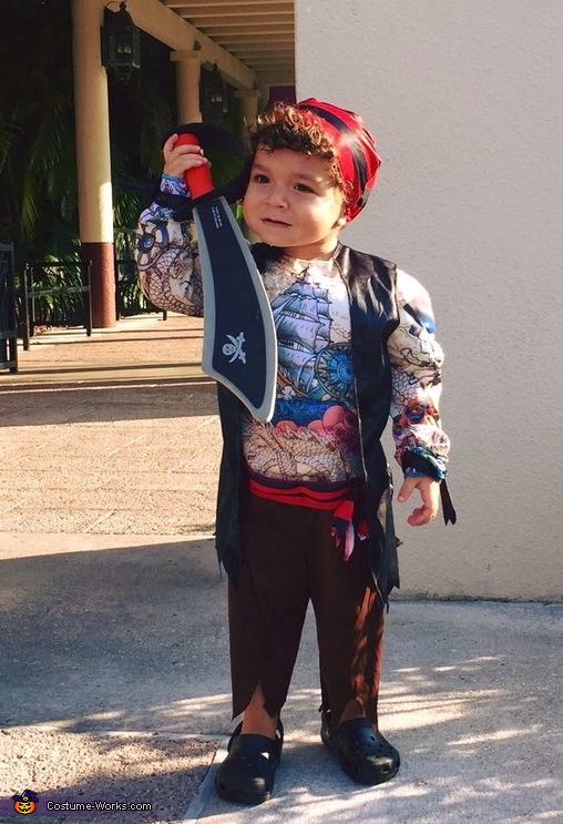 Pirate boy, Pirate Family Costume