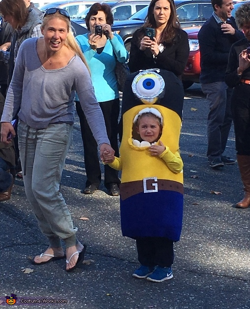 Pirate Minion Homemade Costume