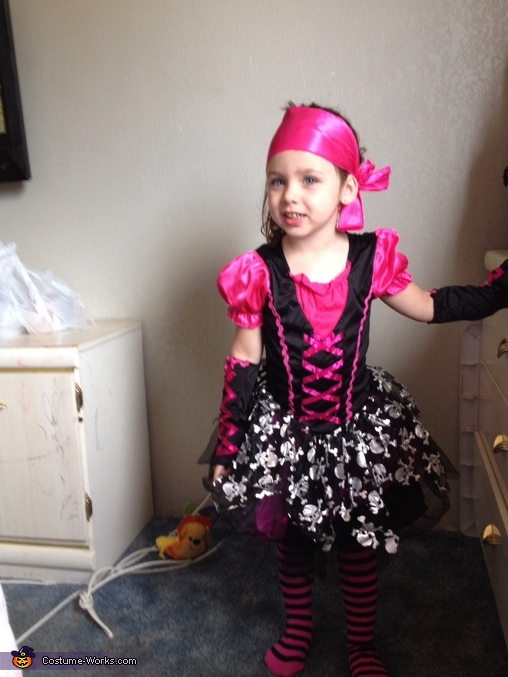 Pirate Princess Homemade Costume