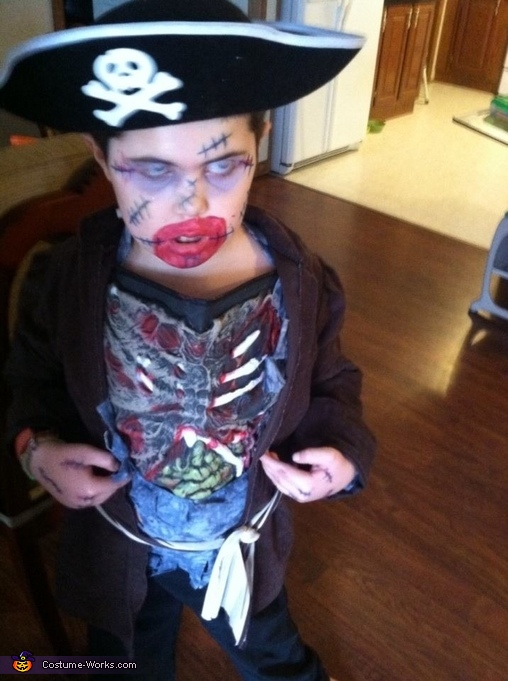 Pirate Zombie Costume
