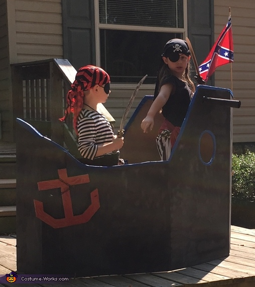 Pirates and Pirate Ship Costume