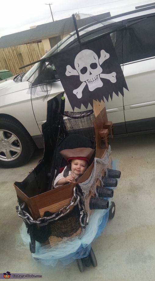 Dean, Pirates Family Costumes