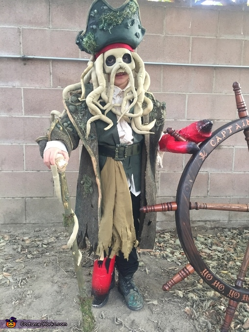 Davy Jones, Davy Jones Costume