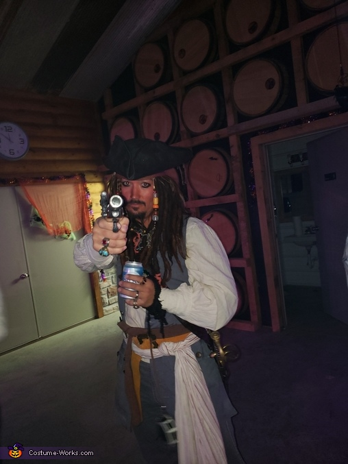 Pirates of the Carribean Homemade Costume