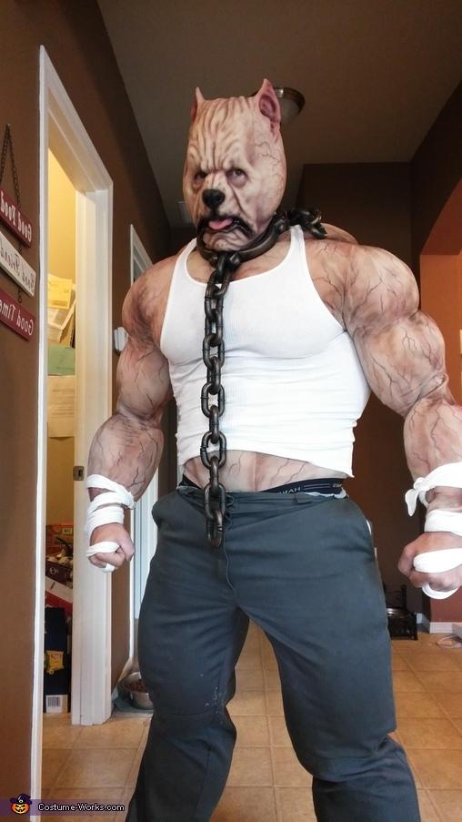 Pitbull Terrier Homemade Costume
