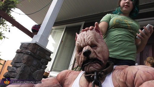 Pitbull Terrier Homemade Costume