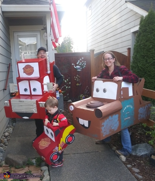 Pixar Cars Costume