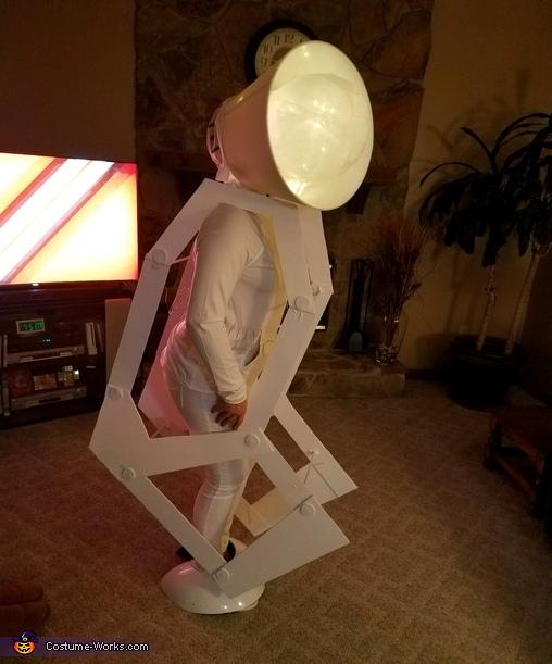 Pixar Lamp Homemade Costume