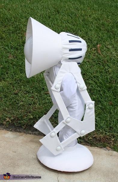 Pixar Lamp Luxo Homemade Costume