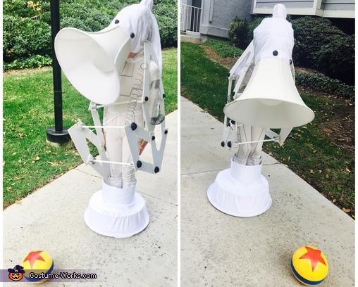 Pixar Luxo Jr. Lamp Homemade Costume
