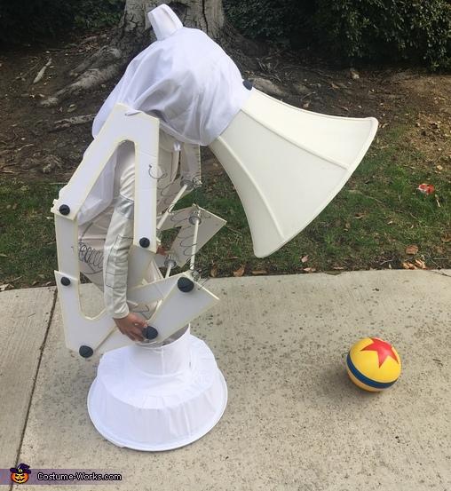 Pixar Luxo Jr. Lamp Costume