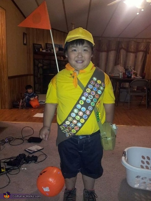 Pixar Up Russell Homemade Costume
