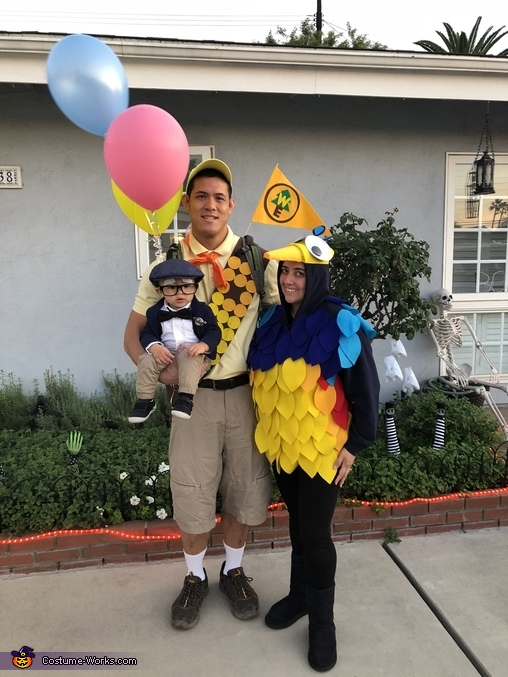 Pixar UP (Russell, Kevin & Mr. Fredricksen) Costume