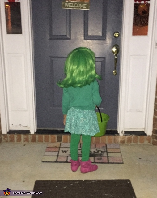 And 'disgust' ew broccoli!, Pixar's Inside Out Family Costume
