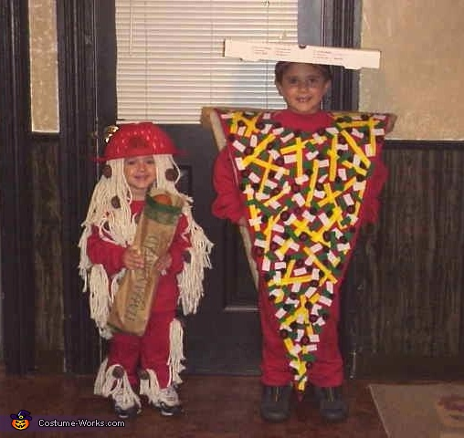 Pizza and Spaghetti Costumes
