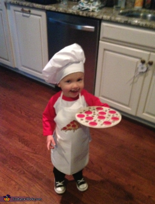 Pizza Chef Costume