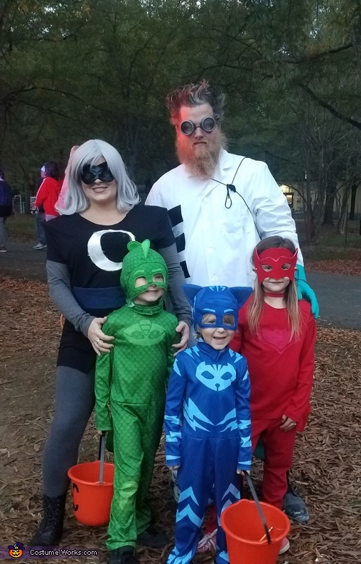 PJ Masks Family Costume