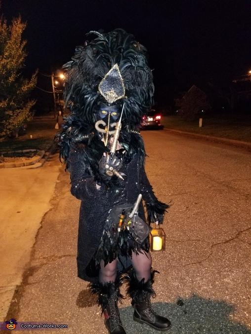 How about a little shot, Plague Costume