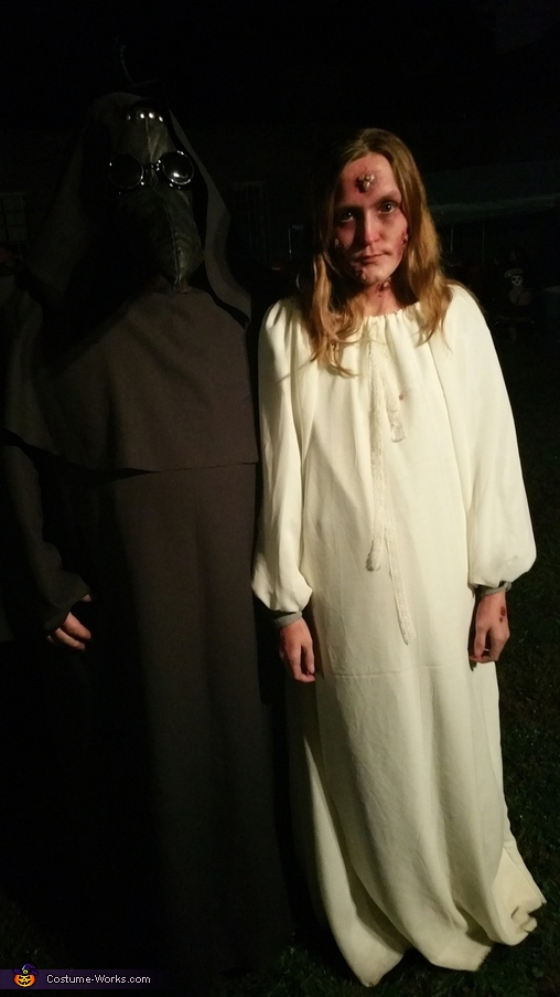 Plague Doctor and Victim Costume