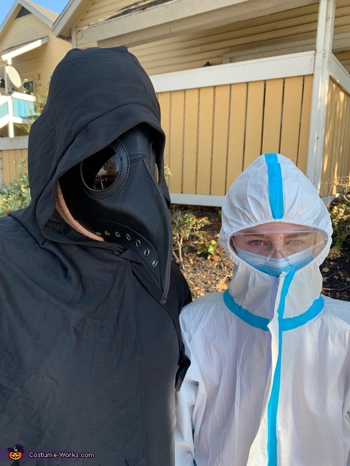 Plague Doctors Past, Present & Future Homemade Costume