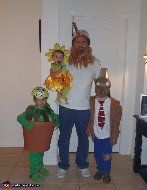 Us, Plants vs. Zombies Costumes