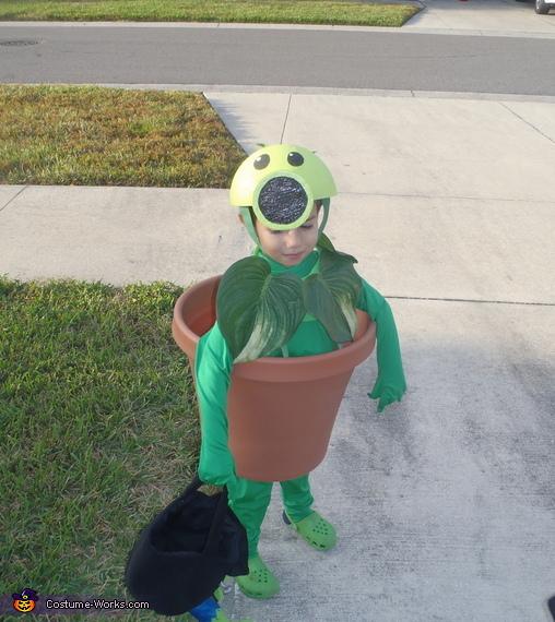 Peashooter, Plants vs. Zombies Costumes