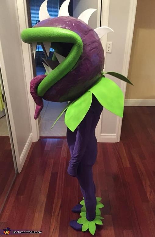 DIY Plants vs Zombies Chomper Costume