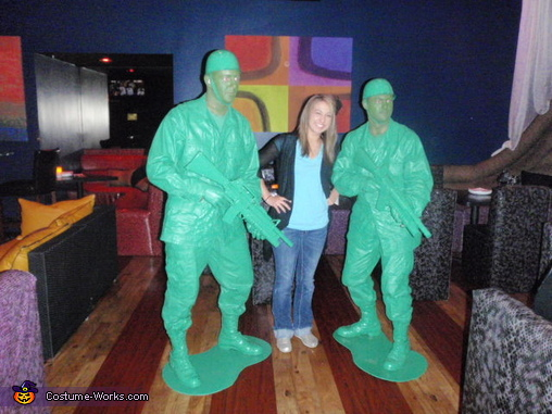 Plastic Army Men Costumes