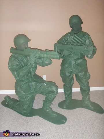 Plastic Army Men - Homemade costumes for adults