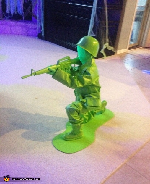 Plastic Army Men Homemade Costume