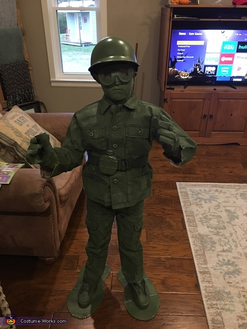 Plastic Soldier Costume