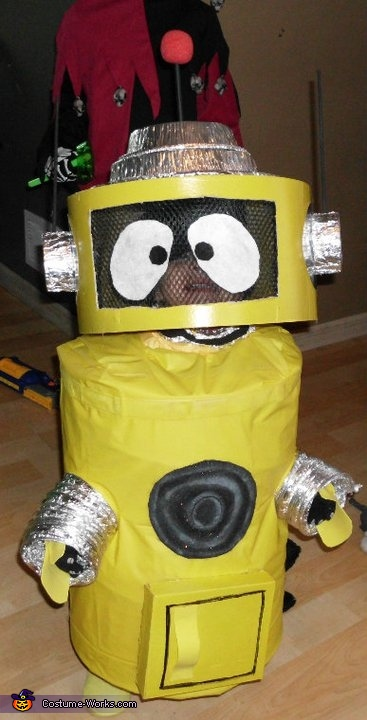 Plex the Robot Costume