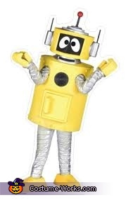 The real Plex!, Plex the Robot Costume