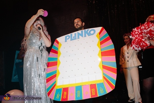 Plinko Homemade Costume