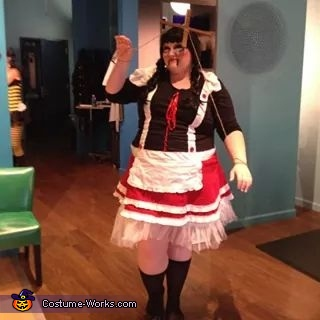 Plus Size Puppet Costume