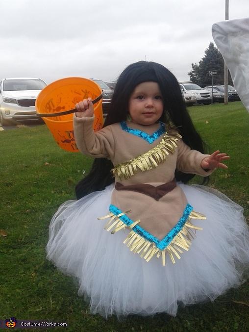 Pocahontas Homemade Costume