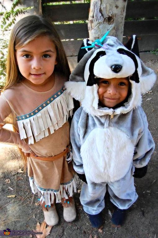Pocahontas and Meeko, Pocahontas and Meeko Kids Costume