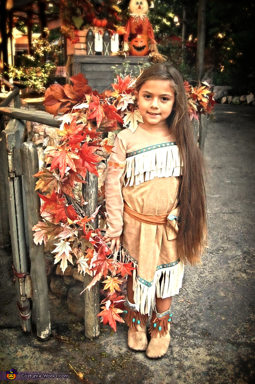Al as Pocahontas, Pocahontas and Meeko Kids Costume